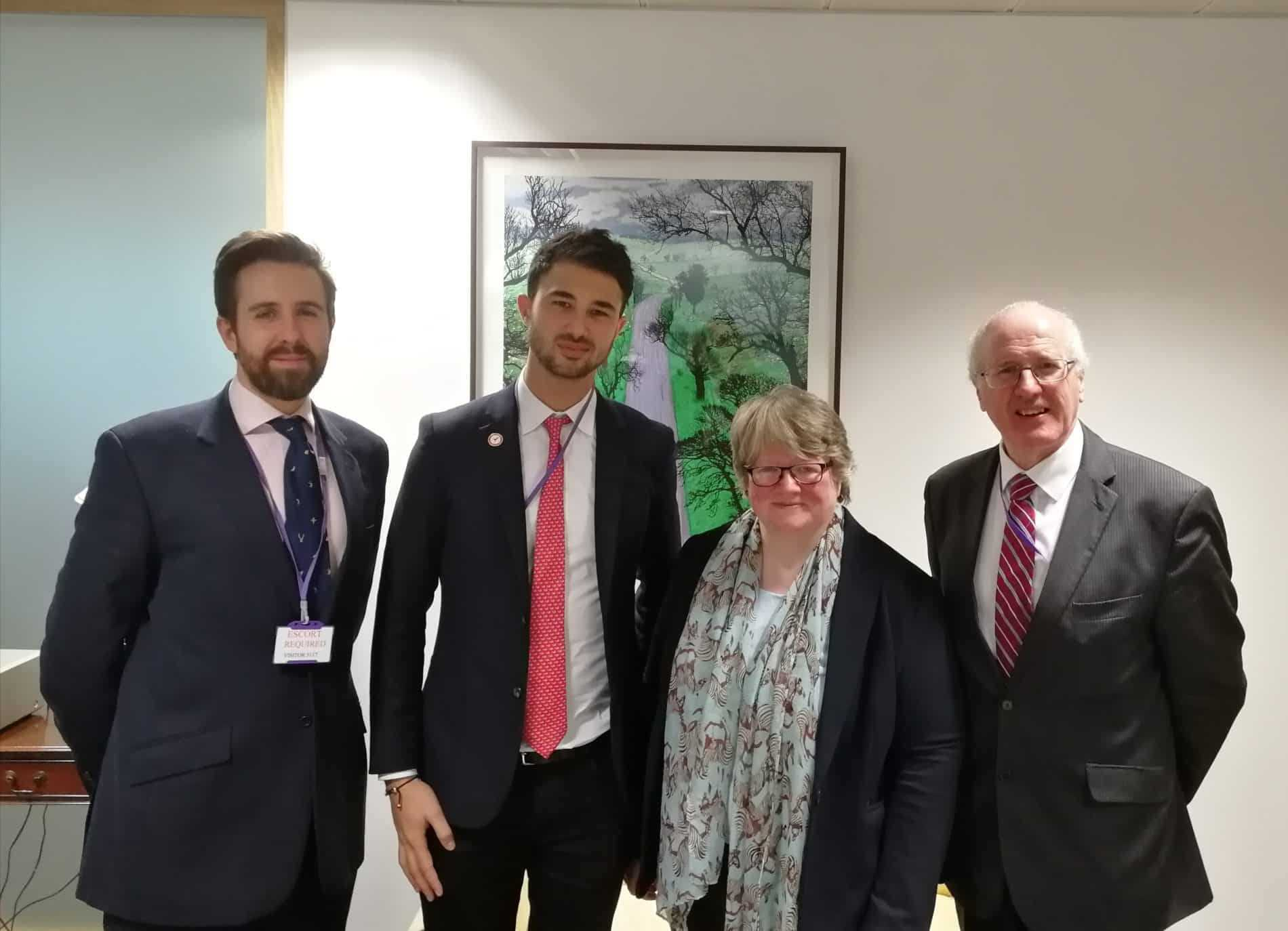 Defra Minister discusses game meat market