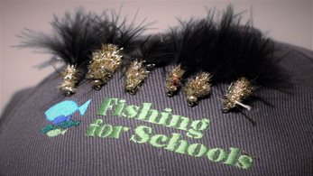 February's tip for young anglers - don't get your line in a tangle