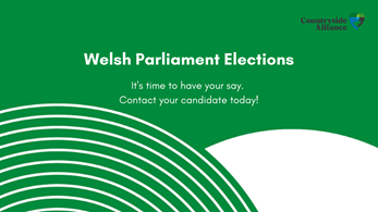 Countryside Alliance Wales present their manifesto for the upcoming Welsh Parliament elections