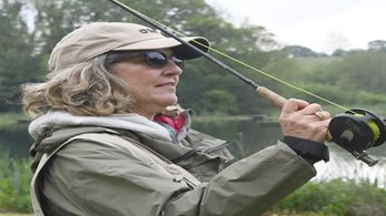 Go fishing to improve your well being after breast cancer treatment