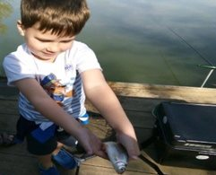 Tip of the month for young anglers,  October 2019 - having the correct kit saves tangles and tantrums
