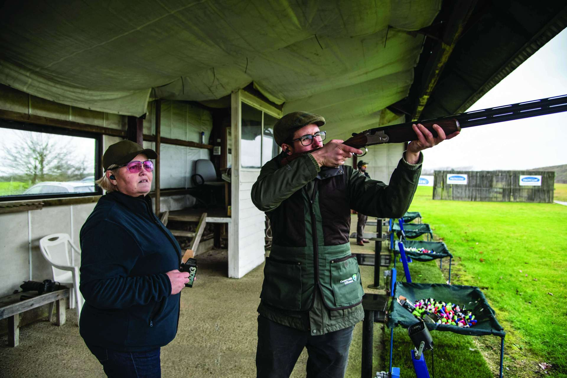 What Can Game Shooters learn from the Olympic clay disciplines of Skeet and Trap?